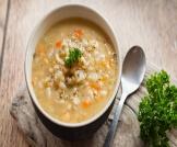 فوائد حساء الشعير