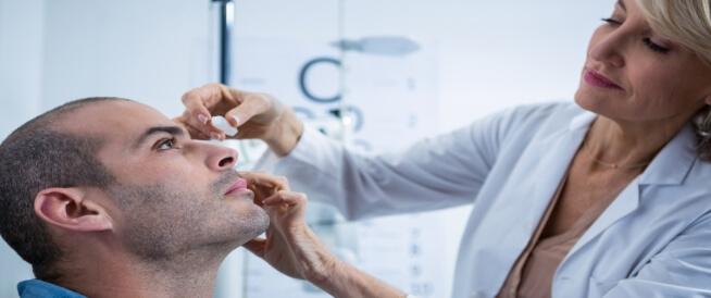 كيفية علاج حروق العين