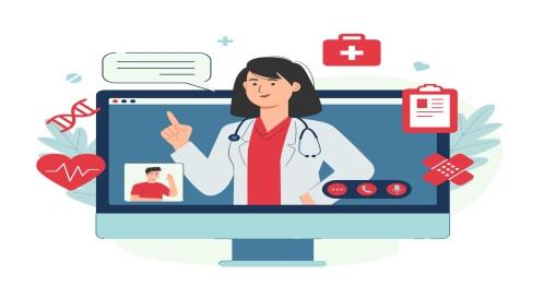 استخدام الطبيب لخدمات الرعاية الصحية