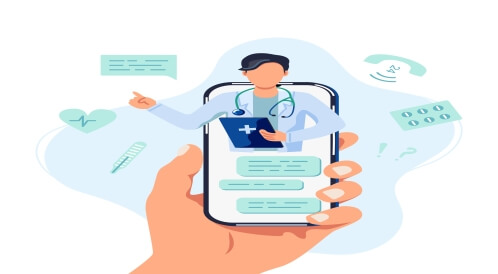 اختيار العيادة الإلكترونية