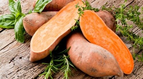 فوائد البطاطا الحلوة للعضلات