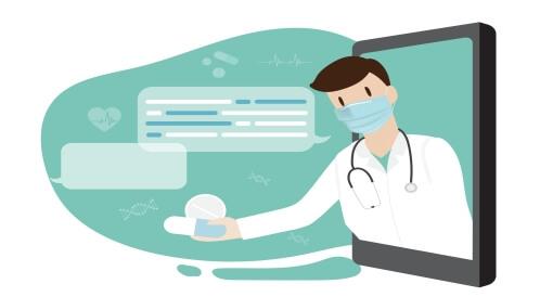 موعد افتراضي أم فعلي مع الطبيب