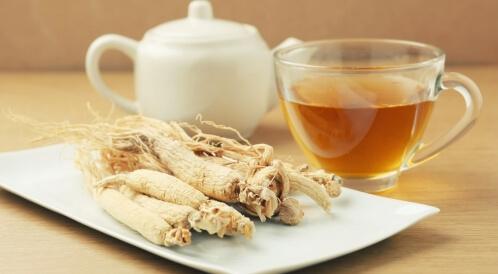شاي الجنسنج