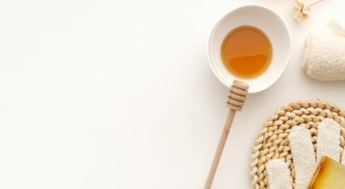 ماسك للهالات السوداء بالعسل