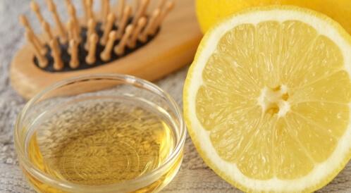 الخل والليمون للقشرة