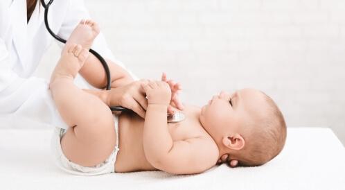 سرعة التنفس عند الأطفال حديثي الولادة