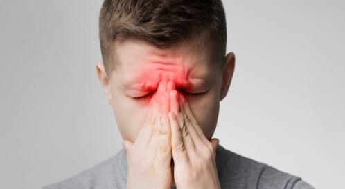 أعراض التهاب الجيوب الأنفية وضيق التنفس