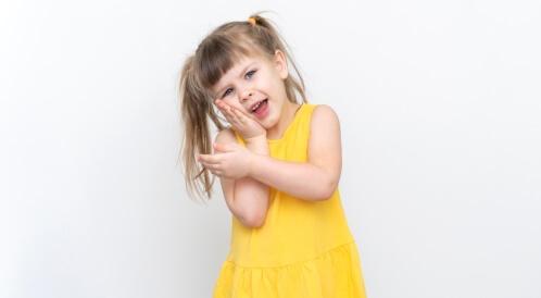 ظهور الأضراس الخلفية عند الأطفال