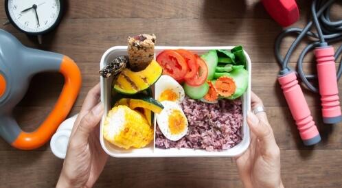 وجبات قبل التمرين لإنقاص الوزن