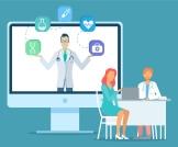 تجربة المرضى في العيادات  الإلكترونية