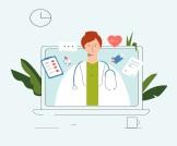 التواصل الاجتماعي للعيادات الإلكترونية