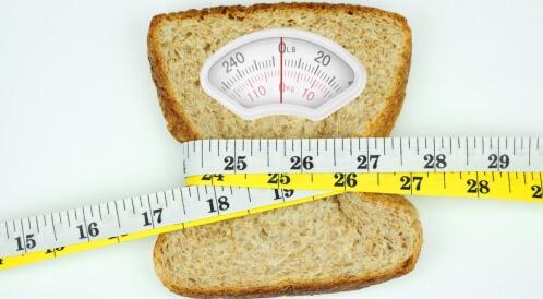 حساسية الجلوتين وزيادة الوزن
