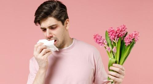 حساسية الربيع وضيق التنفس