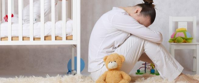 اكتئاب ما بعد الولادة،اعراض وعلاج اكتئاب ما بعد الولادة