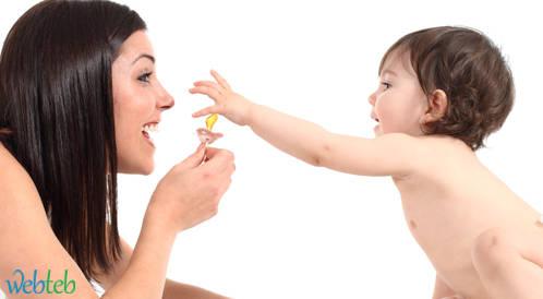 الرضيع واللهاية