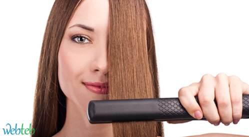 طرق تمليس الشعر
