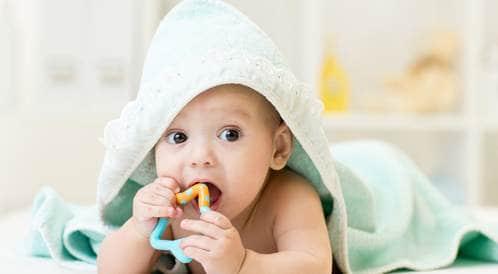 منع جفاف جلد الطفل