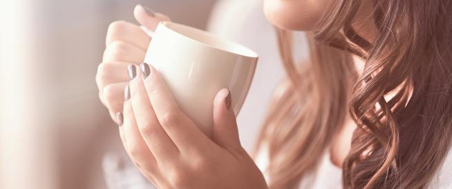 علاقة الحامل بالقهوة