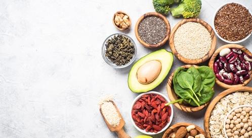 أطعمة نباتية بدل الحيوانية