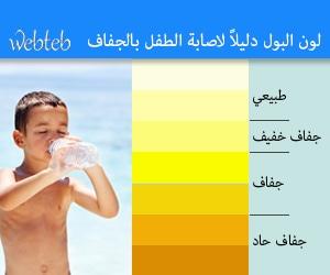 لون البول يؤشر على مدى الجفاف