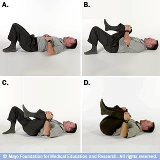 تمديد الصدر-الركبة