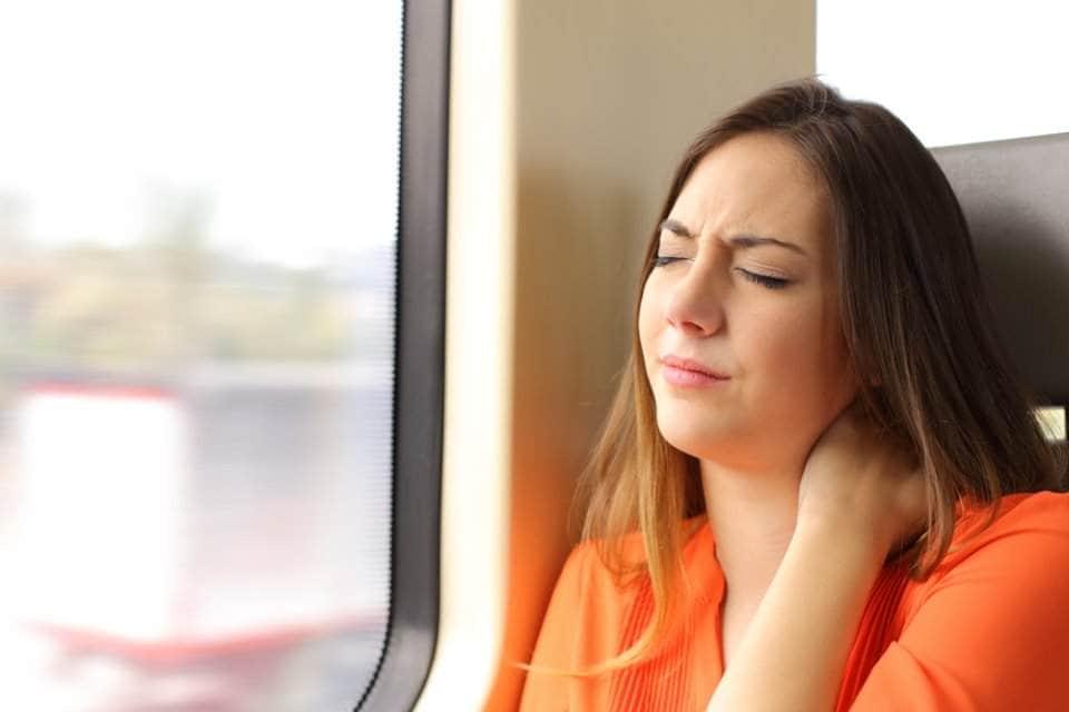 امرأة متعبة