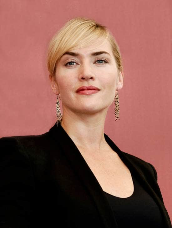 الممثلة الأمريكية كيت ونسلت