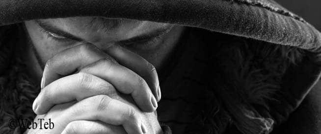 صورة رجل حزين