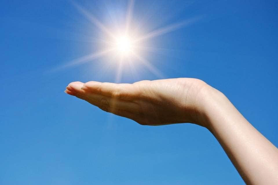 صورة للجلد يتعرض للشمس والهواء