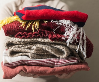 صورة لملابس الشتاء الدافئة
