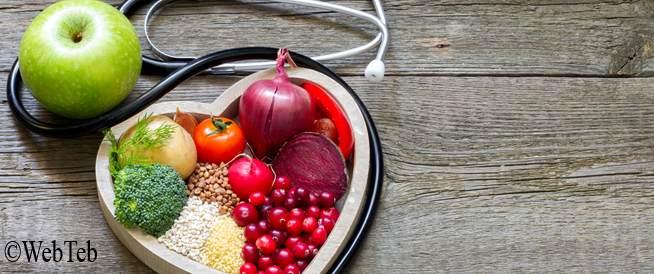 مجموعة من الأمثلة على أغذية نظام داش