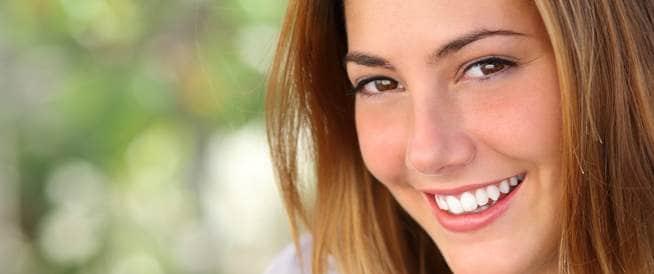صورة لابتسامة جميلة