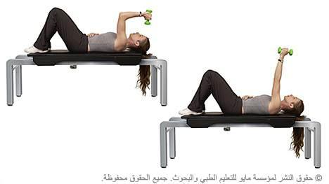 تمديد العضلة ثلاثية الرؤوس