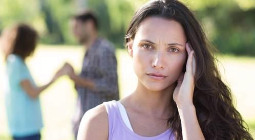 صورة لامرأة تعاني الاكتئاب