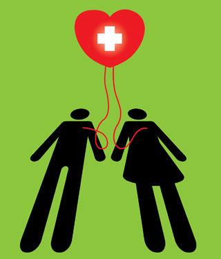 ينقذ التبرع بالدم  حياة الناس ويحسن الصحة