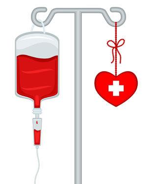 يجري التبرع بالدم  لدعم علاجات متنوعة