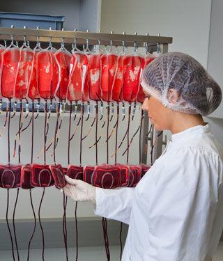 حوالي 92 مليون وجبة تبرع بالدم تجمع سنويا في أنحاء العالم