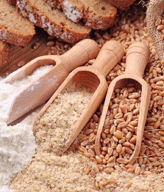 تناول الحبوب الكاملة
