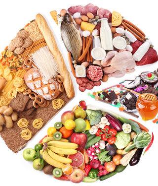 الحرص على وجبات غذائية متكاملة