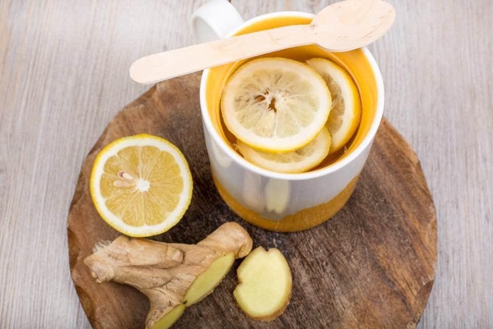 صورة للزنجبيل والليمون