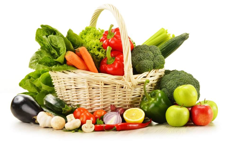 صورة لسلة من الخضراوات